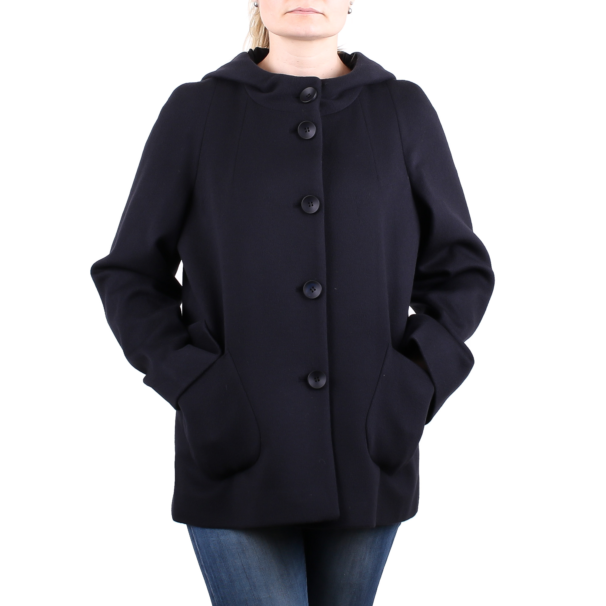 190359203d6 Женское короткое пальто с капюшоном Carla Vi S9099. купить ...