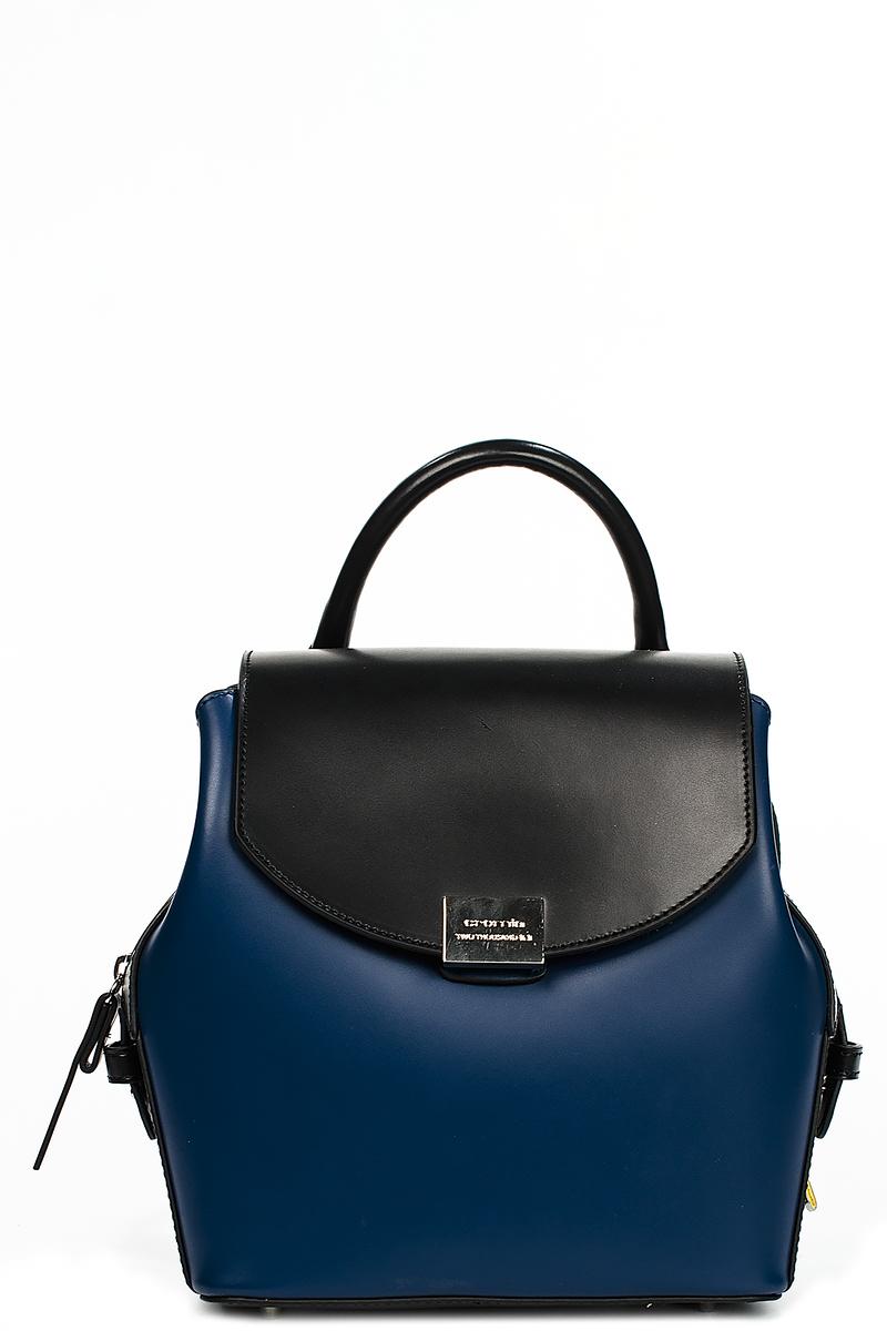 9b367096eb5e Черно-синий женский рюкзак Cromia B26522-CR1403024. сумка-рюкзак ...